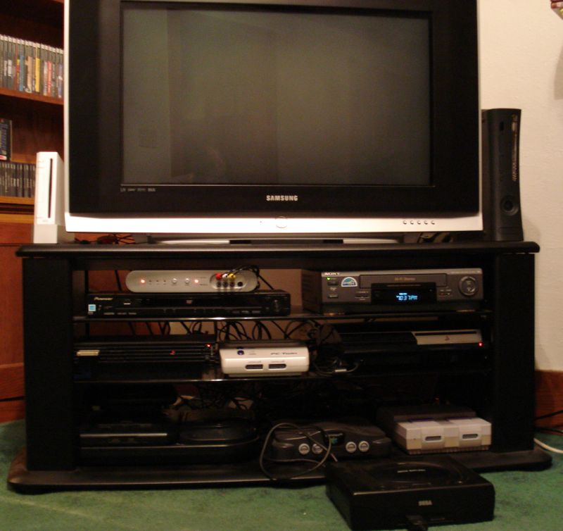 post your gaming setup ars technica openforum. Black Bedroom Furniture Sets. Home Design Ideas